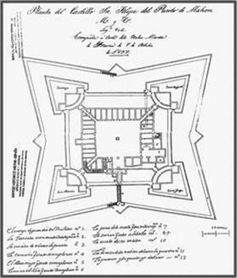 """Castell de Sant Felipe """"St Philips Castle"""""""