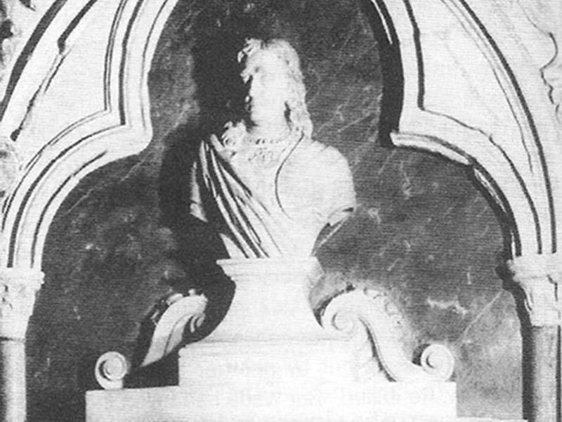 Richard Kane's bust
