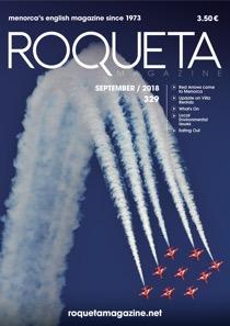 Roqueta cover issue 329 September 2018