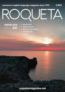 Roqueta cover issue 331 November 2018