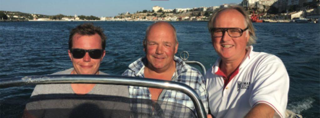 Cameron, Duncan and Robert